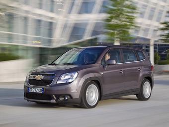 Минивэн Chevrolet Orlando появится в России в октябре