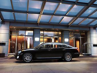 Объявлены российские цены на обновленный седан Hyundai Equus