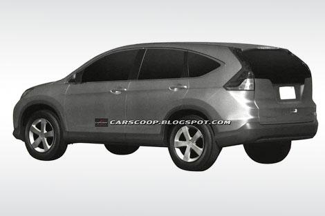 В интернете появились первые изображения кроссовера Honda CR-V нового поколения. Фото 1