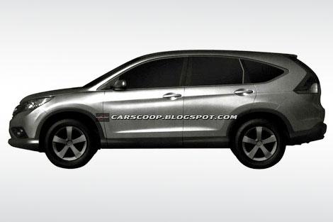 В интернете появились первые изображения кроссовера Honda CR-V нового поколения. Фото 3