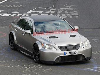 """Автоспортивное отделение """"Тойоты"""" построило 650-сильный Lexus LS"""