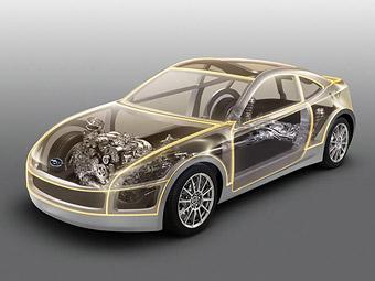 Прототип заднеприводного купе Subaru покажут в ноябре