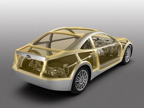 В середине ноябре на моторшоу в Лос-Анджелесе состоится премьера прототипа новой модели Subaru