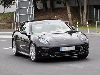 """Компания Porsche начала испытания обновленной """"Панамеры"""""""