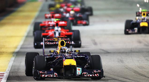 Гран-при Сингапура и другие гонки уик-энда 23-25 сентября