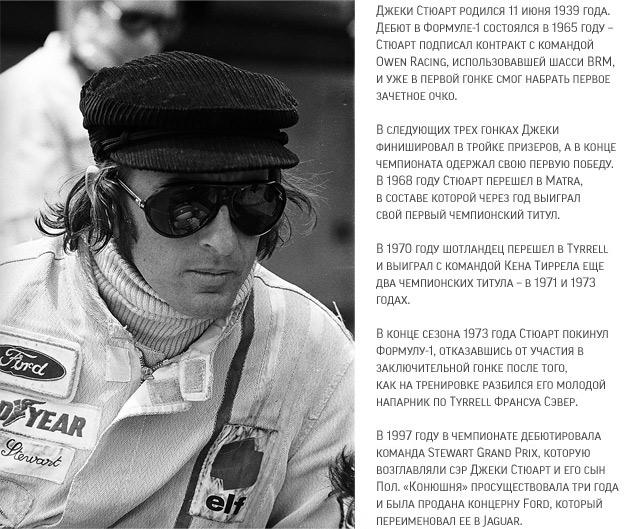 Интервью с легендой Формулы-1 Джеки Стюартом