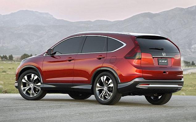 В США состоялся первый публичный дебют прототипа нового Honda CR-V