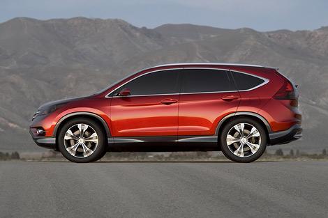 На автошоу в Анахайме впервые показали прототип кроссовера Honda CR-V следующего поколения