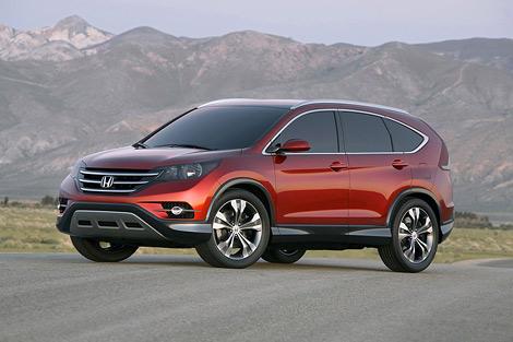На автошоу в Анахайме впервые показали прототип кроссовера Honda CR-V следующего поколения. Фото 1