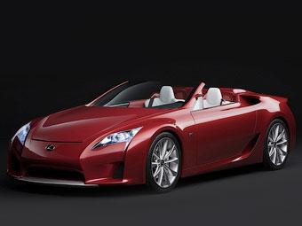 Компания Lexus опровергла слухи о появлении открытой версии суперкара LFA