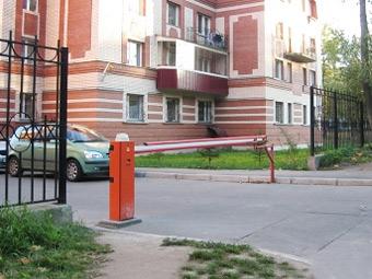 Московские дворы избавят от нелегальных парковок шлагбаумами