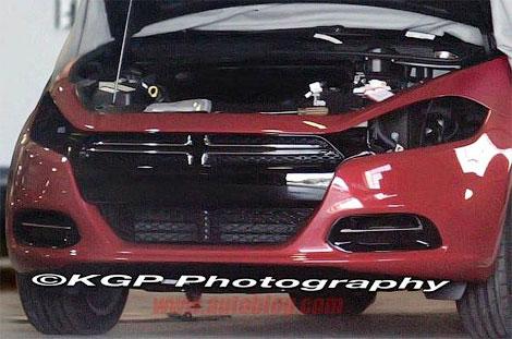 Фотошпионы засняли новую модель Dodge