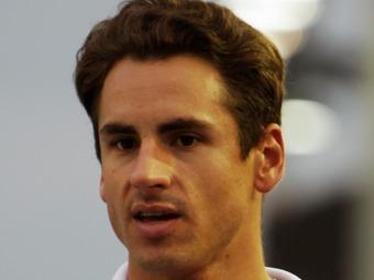 Адриан Сутил прошел подгонку сиденья на базе команды Williams