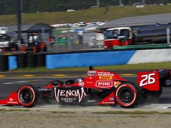 Команда Andretti серии INDYCAR перейдет на двигатели Chevrolet