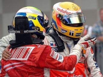 Масса раскритиковал поведение Хэмилтона в квалификации Гран-при Сингапура