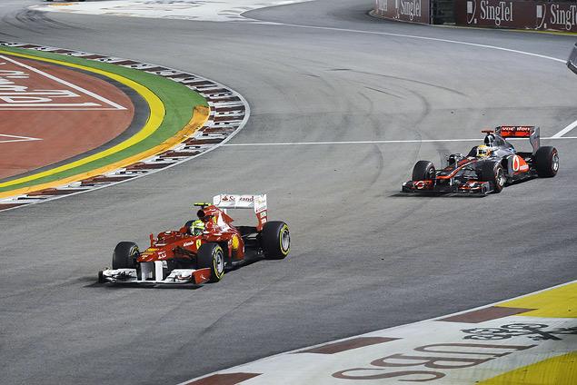Себастьян Феттель выиграл Гран-при Сингапура. Фото 1