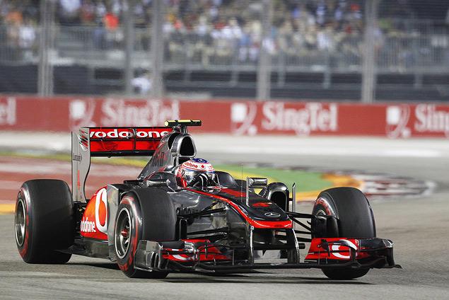 Себастьян Феттель выиграл Гран-при Сингапура. Фото 3