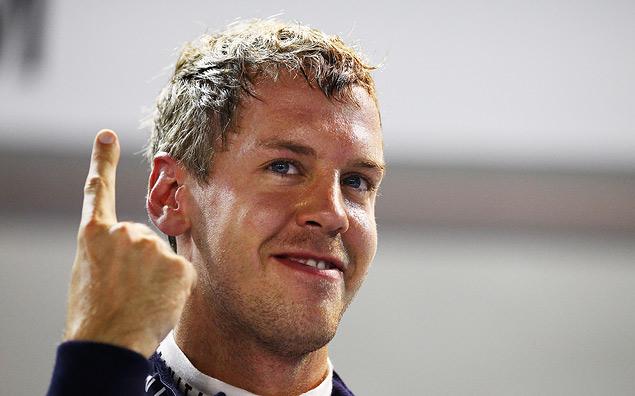 Себастьян Феттель выиграл Гран-при Сингапура. Фото 4