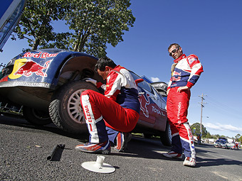 В 2012 году пилотам WRC придется реже менять покрышки