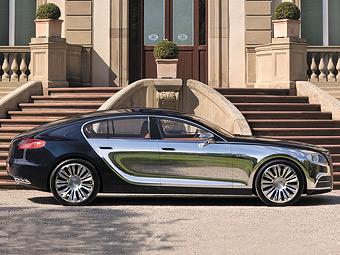 Bugatti полностью изменит дизайн суперседана Galibier