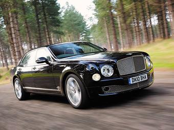 Bentley увеличит число версий у моделей Mulsanne и Continental