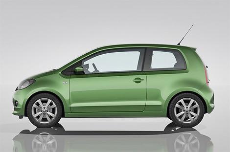 Компания Skoda представила компактный городской автомобиль Citigo