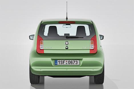Компания Skoda представила компактный городской автомобиль Citigo. Фото 1
