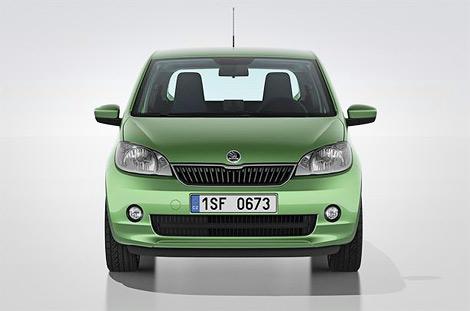 Компания Skoda представила компактный городской автомобиль Citigo. Фото 2