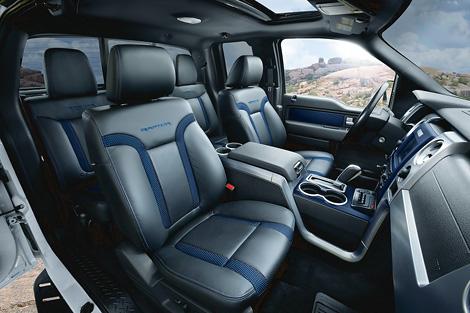 Компания Ford представила пикап F-150 SVT Raptor 2012 модельного года. Фото 2