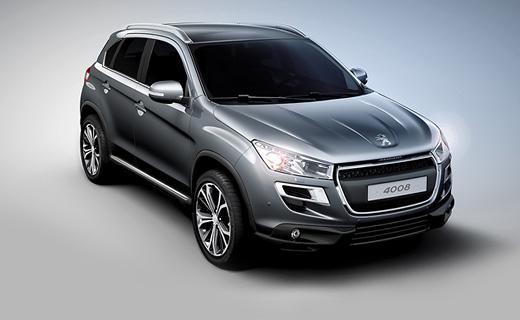 Компания Peugeot подготовила замену кроссоверу 4007