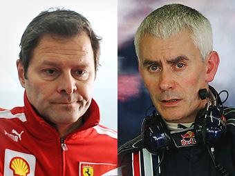 Команда Mercedes GP наняла бывших техдиректоров Ferrari и Red Bull