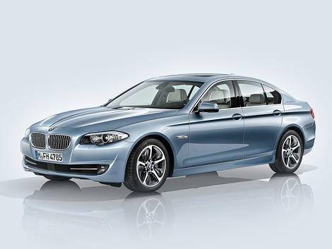 Марка BMW рассекретила серийный гибрид 5-Series