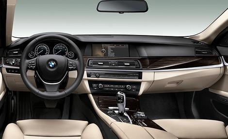 В марте следующего года компания BMW начнет продажи гибридной версии 5-Series. Фото 2