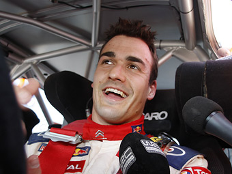 Даниэль Сордо и Петтер Сольберг возглавили Ралли Франции WRC