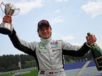 Михай Маринеску одержал дебютную победу в Формуле-2