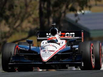 Уилл Пауэр занял первое место в квалификации INDYCAR в Кентукки