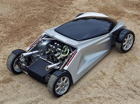 Латвийская компания Dartz представит на автошоу в Монако новые разработки