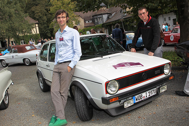 Путешествуем во времени вместе с VW Golf GTI MkI. Фото 3