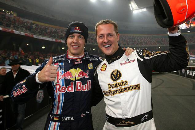 Себастьян Феттель отобрал у Михаэля Шумахера рекорды Формулы-1. Фото 6
