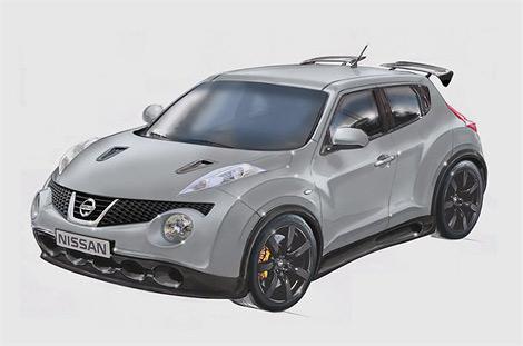 """Компания Nissan разрабатывает """"заряженный"""" Juke с мотором от суперкара GT-R. Фото 4"""