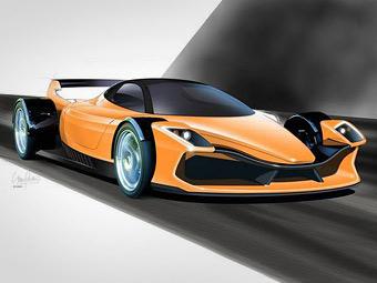Новозеландцы показали финальный дизайн карбонового суперкара