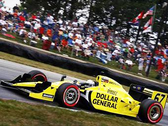 Победитель гонки INDYCAR в Кентукки потерял спонсора
