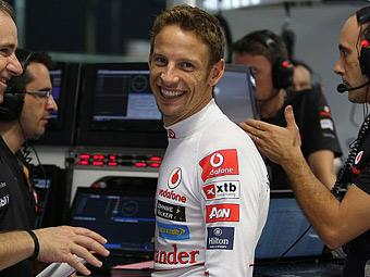 Дженсон Баттон продлил контракт с командой McLaren