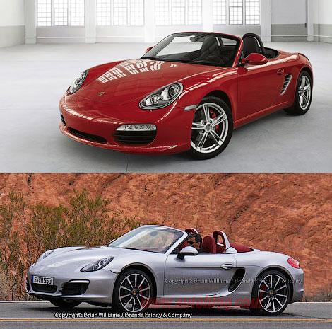 В интернете появились шпионские фотографии нового Porsche Boxster S