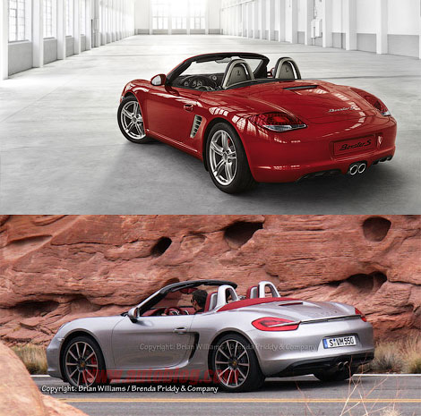 В интернете появились шпионские фотографии нового Porsche Boxster S. Фото 1