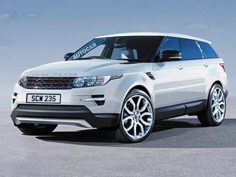 Британский журнал рассекретил внешность нового Range Rover