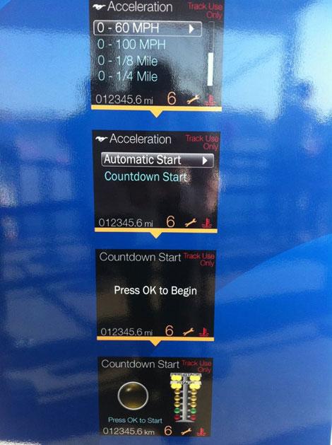 """Рестайлинговые """"Мустанги"""" получат систему, показывающую в графическом виде данные о работе всех систем машины"""