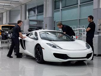 McLaren замедлил темп выпуска суперкара MP4-12C из-за проблем с качеством
