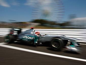 Судьи Гран-при Японии оштрафовали Михаэля Шумахера