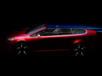 """Новый кабриолет Opel на базе """"Астры"""" станет самостоятельной моделью"""